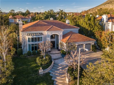 Calabasas Single Family Home For Sale: 25535 Cumberland Lane