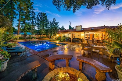 Canyon Country Single Family Home For Sale: 16001 Live Oak Springs Canyon Road