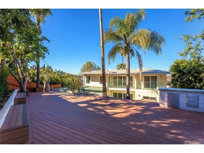 Studio City Single Family Home For Sale: 11268 Sunshine Terrace