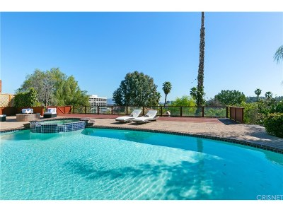 Encino Single Family Home For Sale: 16726 Oak View Drive