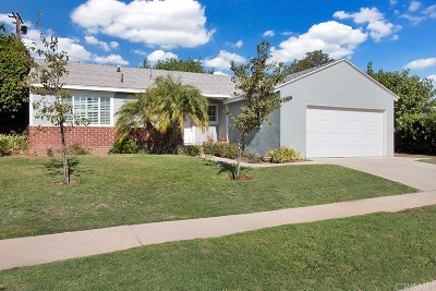 Encino Single Family Home For Sale: 17227 Bullock Street