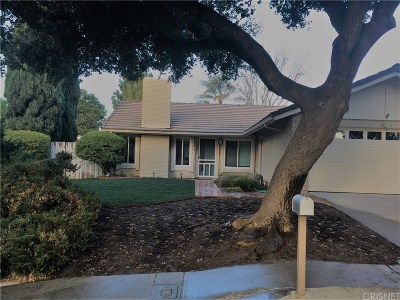 Newbury Park Single Family Home For Sale: 2951 Lodgewood Street
