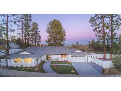 Woodland Hills Single Family Home For Sale: 22301 Quinta Road