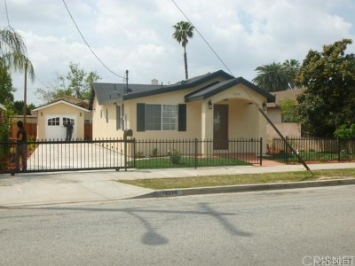 San Fernando Single Family Home For Sale: 1314 Omelveny Avenue