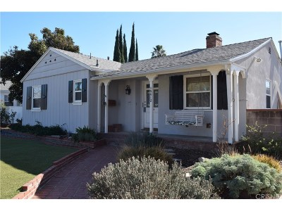Single Family Home For Sale: 18612 Sunburst Street