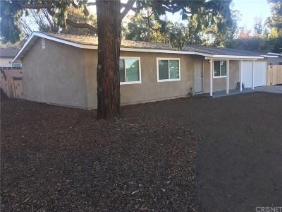 Simi Valley Single Family Home For Sale: 2884 Rosette Street
