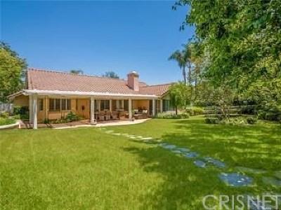 Calabasas Single Family Home For Sale: 24734 Via Pradera