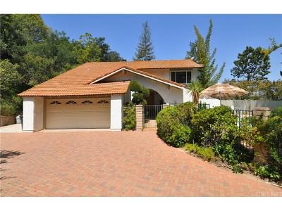 Calabasas Single Family Home For Sale: 3629 Adamsville Avenue