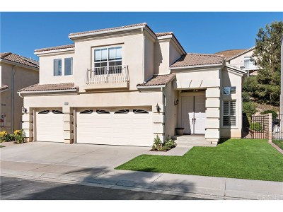 Simi Valley Single Family Home For Sale: 3068 Obsidian Court