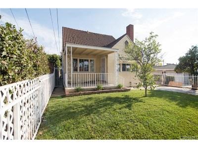 San Fernando Single Family Home For Sale: 962 Harding Avenue