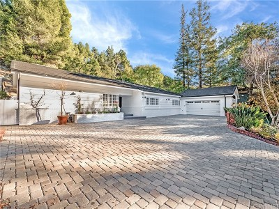 Encino Single Family Home Active Under Contract: 3800 Hayvenhurst Avenue