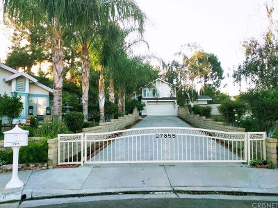 Valencia Single Family Home For Sale: 27855 Alder Glen Circle