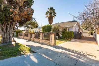 San Fernando Single Family Home For Sale: 906 De Foe Street