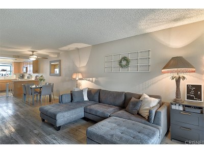 Canyon Country Condo/Townhouse Active Under Contract: 26863 Claudette Street #127