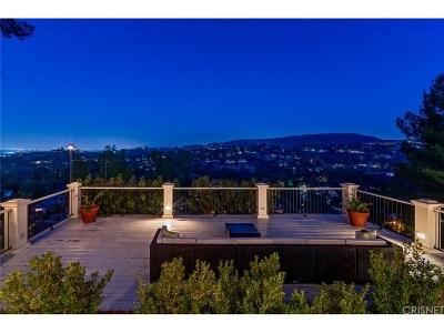 Tarzana Single Family Home For Sale: 4602 Monarca Drive