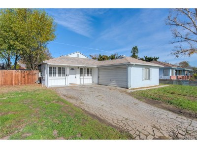 Northridge Single Family Home Active Under Contract: 17611 Lanark Street