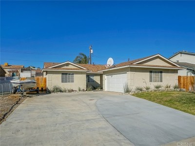 Saugus Single Family Home For Sale: 22313 Los Tigres Drive