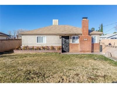 Quartz Hill Single Family Home For Sale: 4805 West Avenue L4