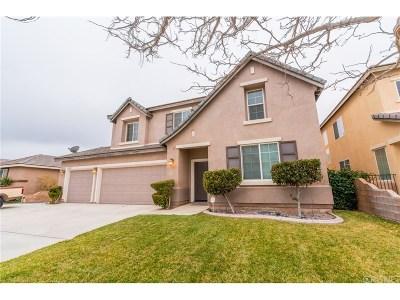 Lancaster Single Family Home For Sale: 44627 Painted Desert Street