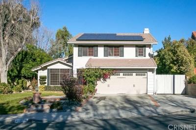 Saugus Single Family Home For Sale: 20829 Marshall Way