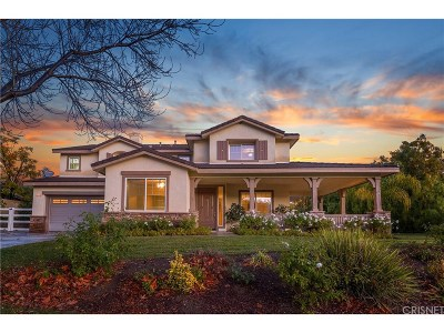 Single Family Home For Sale: 30019 Sagecrest Way