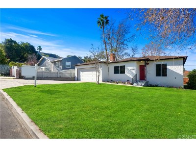 Sunland Single Family Home For Sale: 10139 Parr Avenue