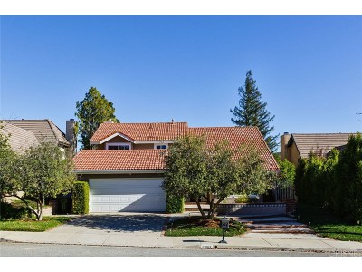 Agoura Hills Single Family Home For Sale: 29167 Quail Run Drive