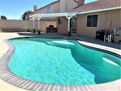 Rosamond Single Family Home For Sale: 2121 Matthew Avenue