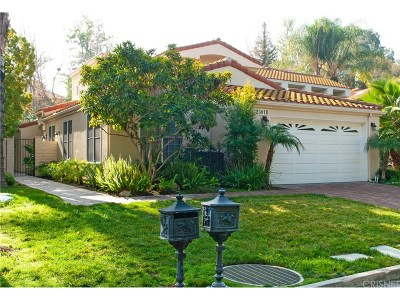 Calabasas Condo/Townhouse For Sale: 23018 Park Veneto