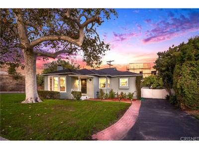 Studio City Single Family Home For Sale: 4554 Kraft Avenue