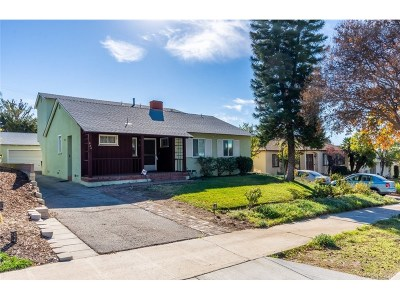 Burbank Single Family Home For Sale: 924 Delaware Road