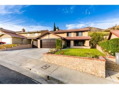 Sylmar Single Family Home Active Under Contract: 13966 Saddle Ridge Road