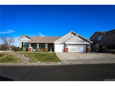 Lancaster Single Family Home For Sale: 41006 Vista Rambia