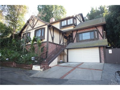 Sherman Oaks Single Family Home For Sale: 13454 Contour Drive