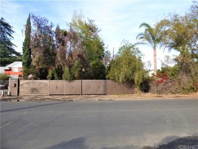 Van Nuys Single Family Home Active Under Contract: 14027 Valerio Street