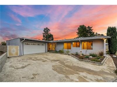 Tujunga Single Family Home For Sale: 9515 Crystal View Drive