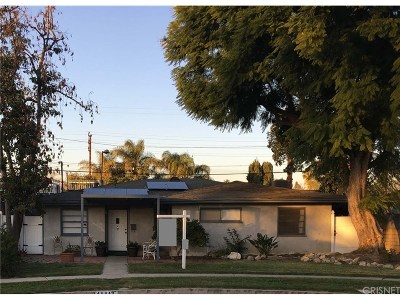 Reseda Single Family Home Active Under Contract: 18813 Covello Street