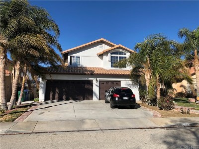 Palmdale Single Family Home For Sale: 3133 Fulham Court