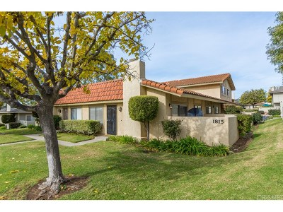 Thousand Oaks Condo/Townhouse For Sale: 1815 Aleppo Court