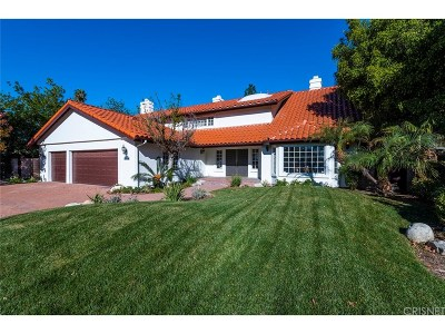 Chatsworth Single Family Home For Sale: 20481 Tulsa Street