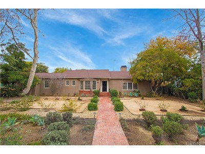 Van Nuys Single Family Home For Sale: 15047 Hamlin Street