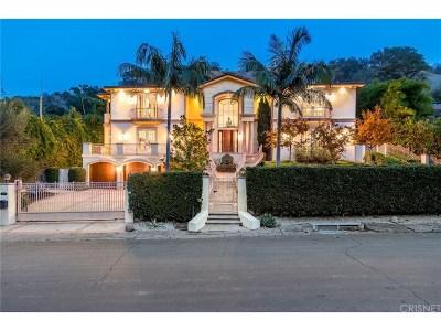 Sherman Oaks Single Family Home For Sale: 3620 Longridge Avenue