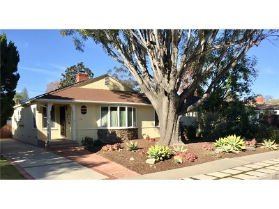 Toluca Lake Single Family Home Active Under Contract: 4707 Willowcrest Avenue