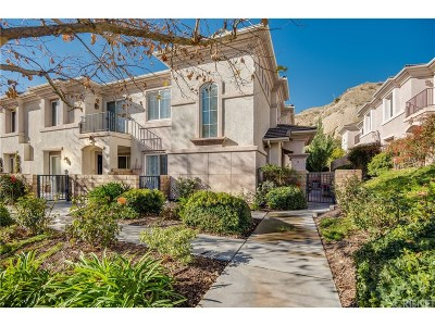 Canyon Country Condo/Townhouse For Sale: 28963 Oak Spring Canyon Road #8