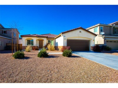 Rosamond Single Family Home For Sale: 2525 San Madrid Way