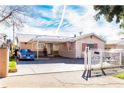 Sylmar Single Family Home For Sale: 13940 Beaver Street