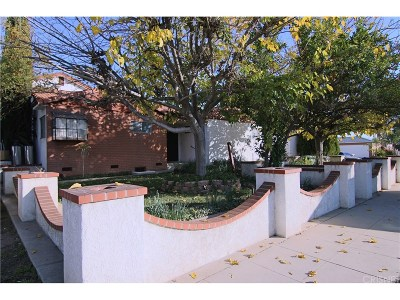 Mission Hills San Fernando Single Family Home Active Under Contract: 9930 Burnet Avenue