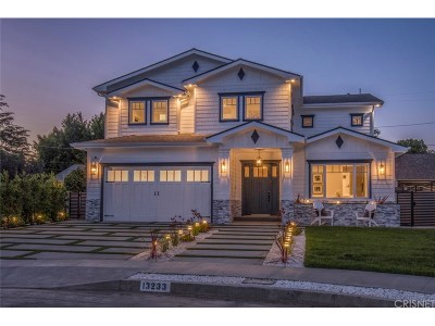 Sherman Oaks Single Family Home For Sale: 13233 McCormick Street