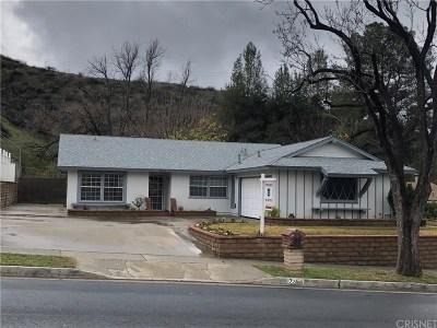 Saugus Single Family Home For Sale: 22440 La Rochelle Drive
