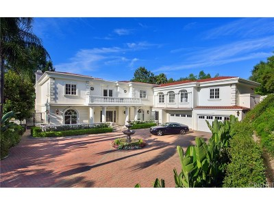 Calabasas Single Family Home For Sale: 3916 Park Antonio